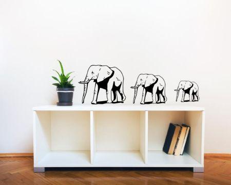 Wandtattoo Elefanten 61046