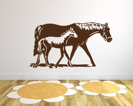 Wandtattoo Pferde 72412