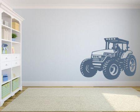 Wandtattoo Traktor fürs Kinderzimmer 72427