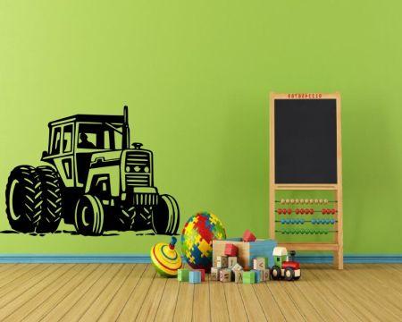 Wandtattoo Traktoren fürs Jungenzimmer 72428
