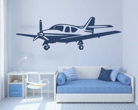 Wandtattoo - Flugzeug - 72449