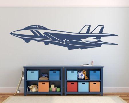 Wandtattoo Düsenjet - Flugzeug 72450