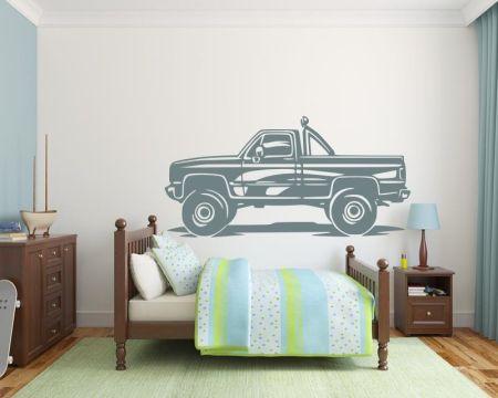 Wandtattoo Monstertruck - Auto Truck fürs Kinderzimmer 72453