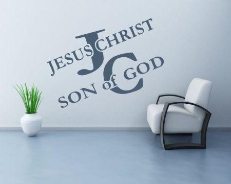 Christlicher Wandaufkleber