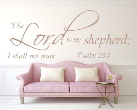 Christlicher Wandspruch