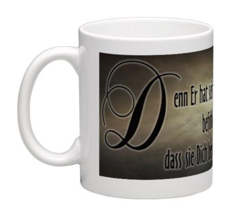 Kaffeebecher mit Bibelvers - Tasse1