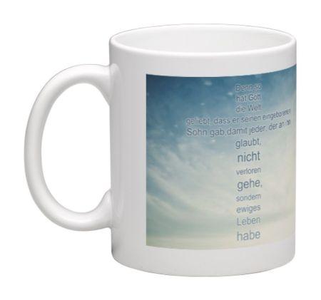 Kaffeebecher mit Bibelvers - Tasse2 - 67028