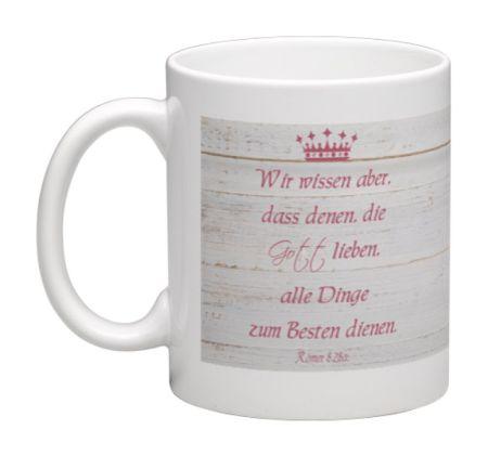 Kaffeebecher mit Bibelvers - Tasse3 - 80027