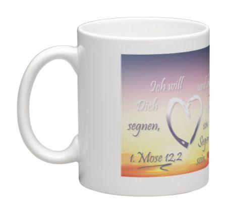 Kaffeebecher mit Bibelvers - Tasse4 - 80031