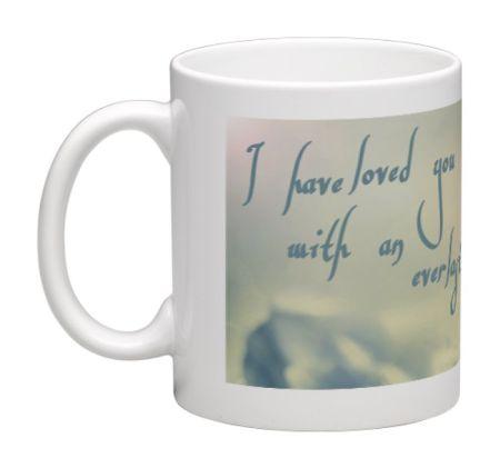 Kaffeebecher mit Bibelvers - Tasse6 - 80067