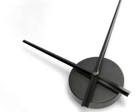 Großes Uhrwerk DIY schwarz