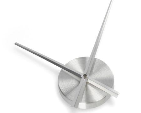 Großes Uhrwerk DIY silber